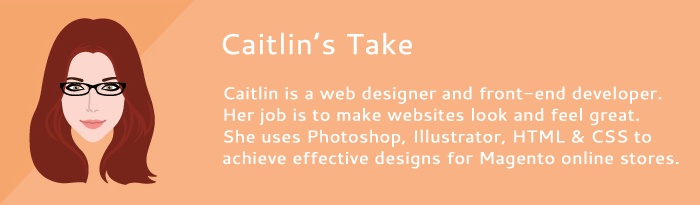 what caitlin thinks about the ultimo magento theme