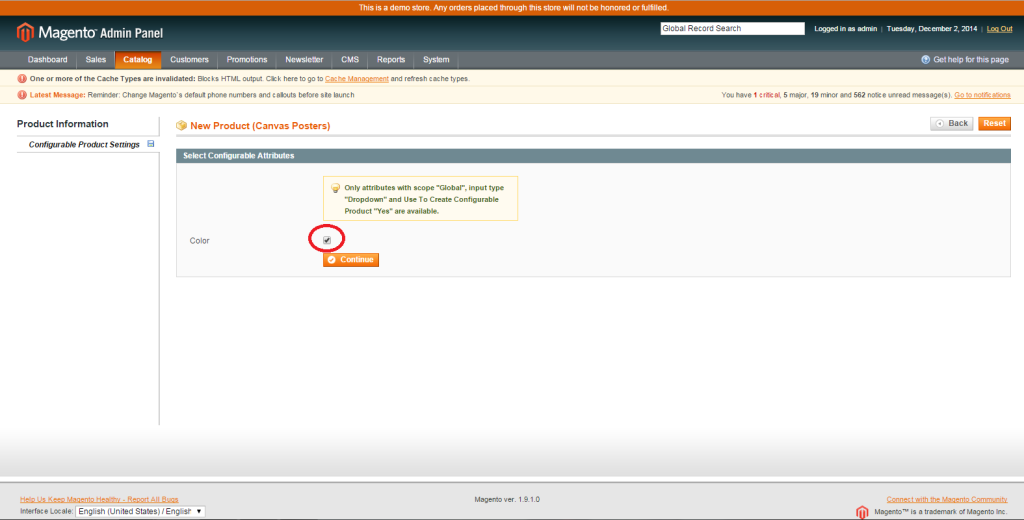 magento product