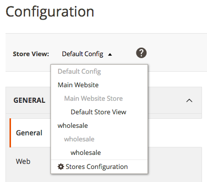 how to create multi website in magento