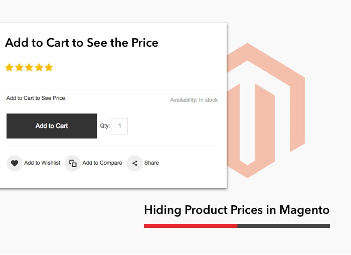 How to Hide Product Prices in Magento